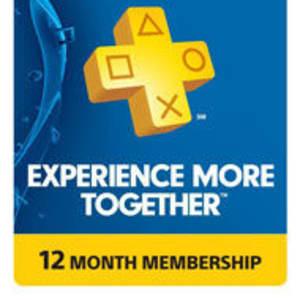 PlayStation Plus One-Year Membership