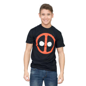 X-Men Deadpool Icon Black T-shirt
