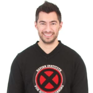Xavier Institute Chenille Patch Sweater