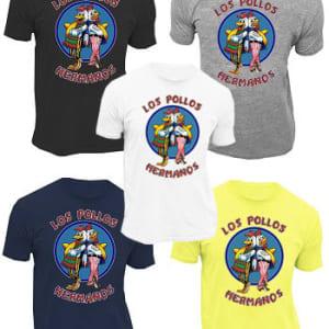 Los Pollos Hermanos Logo Adult T-Shirt