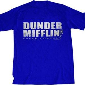 The Office Dunder Mifflin Distressed T-shirt