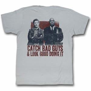 Brooklyn Nine-Nine Men's Rad T-Shirt Large Silver
