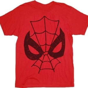 Spider-Man Parker Can't Lose Big Face T-Shirt