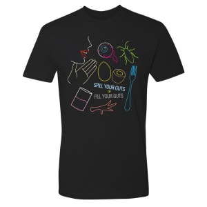 THE LATE LATE SHOW WITH JAMES CORDEN SPILL YOUR GUTS T-SHIRT