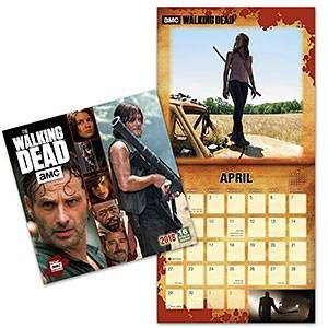 2018 The Walking Dead Wall Calendar
