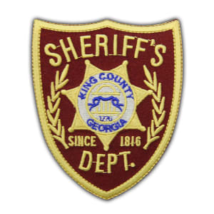 Walking Dead Sheriff's Dept. King County Georgia Patch