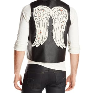 Daryl Dixon Faux Leather Wing Vest