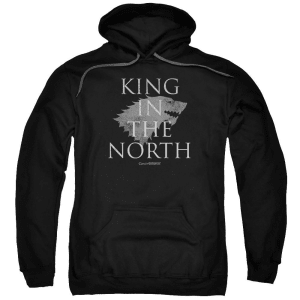 King in the North Black Hoodie from Game of Thrones