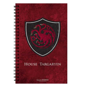 Game of Thrones House Targaryen Notebook