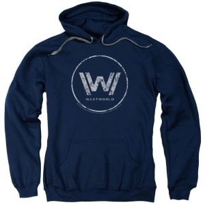 Logo Navy Hoodie from Westworld