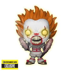 It Pennywise with Spider Legs Glow-in-the-Dark Pop! Vinyl Figure #227 - EE Exclusive