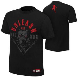"""Roman Reigns """"Unleash The Big Dog"""" Authentic T-Shirt"""