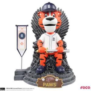 Detroit Tigers Game of Thrones Iron Throne Bobblehead
