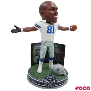 Terrell Owens Dallas Cowboys NFL HOF Bobblehead