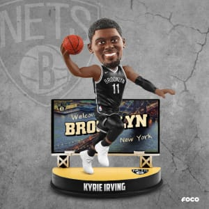 KYRIE IRVING BROOKLYN NETS BILLBOARD BOBBLEHEAD
