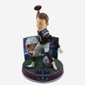 ROB GRONKOWSKI NEW ENGLAND PATRIOTS RETIREMENT BOBBLEHEAD