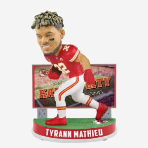 TYRANN MATHIEU KANSAS CITY CHIEFS BILLBOARD BOBBLEHEAD