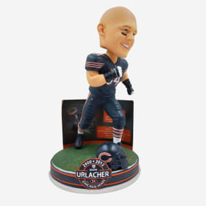 BRIAN URLACHER CHICAGO BEARS NFL CAREER STATS BOBBLEHEAD
