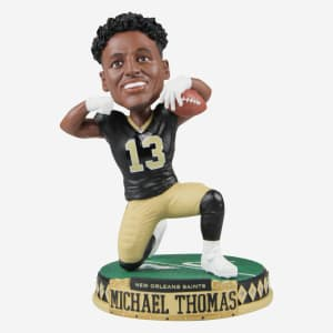 MICHAEL THOMAS NEW ORLEANS SAINTS ACTION POSE BOBBLEHEAD