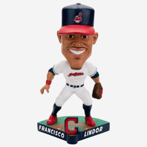 FRANCISCO LINDOR CLEVELAND INDIANS CARICATURE BOBBLEHEAD