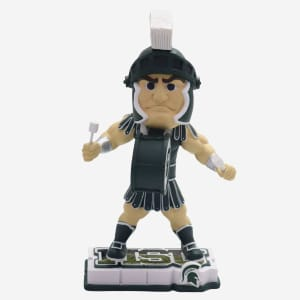 SPARTY MICHIGAN STATE SPARTANS HALFTIME HEROES MASCOT BOBBLEHEAD