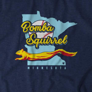 BOMBA SQUIRREL T-SHIRT FROM BREAKINGT