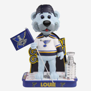 LOUIE ST LOUIS BLUES GLORIA GLORIA BOBBLEHEAD