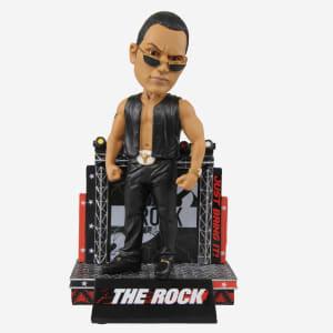 THE ROCK ATTITUDE WWE BOBBLEHEAD