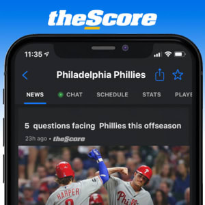 Download theScore App for the latest Phils Hot Stove and Offseason News