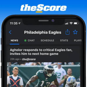 Download theScore App for the latest Phila Scores, News and Odds