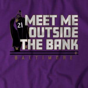 MEET ME OUTSIDE THE BANK T-SHIRT