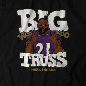 BIG TRUSS WOO WOO T-SHIRT