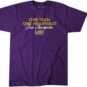 ONE TEAM, ONE HEARTBEAT, ONE CHAMPION BY BREAKINGT