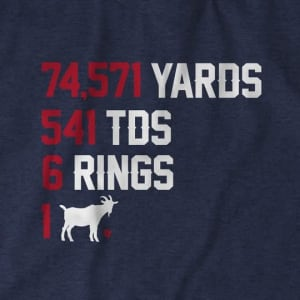 6 RINGS 1 GOAT t-shirt by BreakingT