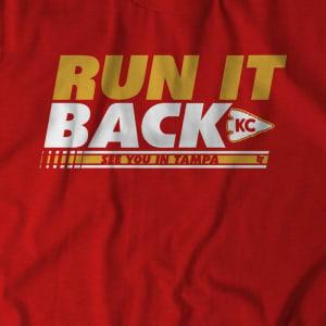 Run It Back KC T-Shirt by BreakingT