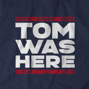 Tom Was Here T-Shirt by BreakingT
