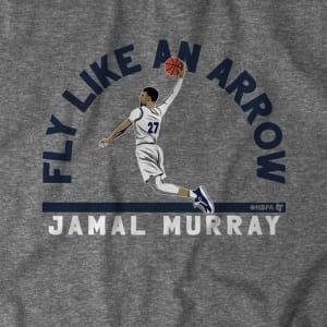 Fly Like An Arrow Jamal Murray T-Shirt by BreakingT