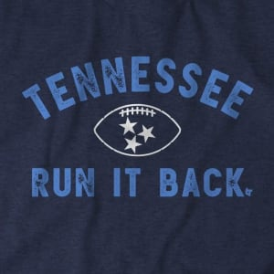 Tennessee Run It Back T-Shirt by BreakingT