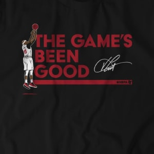Vince Carter: The Game's Been Good T-Shirt by BreakingT