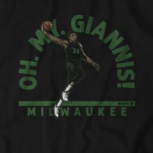 Oh My Giannis T-Shirt by BreakingT