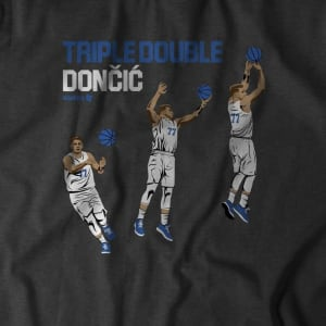Triple-Double Doncic T-Shirt by BreakingT