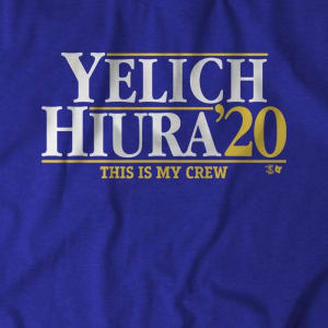 Yelich-Hiura 2020 T-Shirt by BreakingT