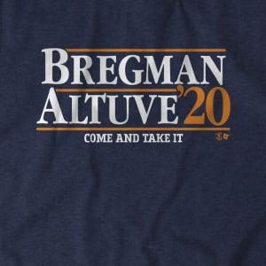 Bregman-Altuve 2020 T-Shirt by BreakingT