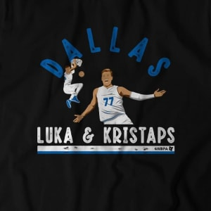 Luka & Kristaps T-Shirt by BreakingT