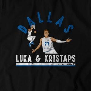 Luka & Kristaps T-Shirt by BreakingT