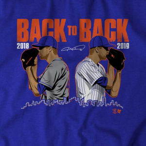 deGrom Back To Back T-Shirt by BreakingT