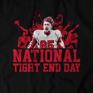 National Tight End Day T-Shirt by BreakingT