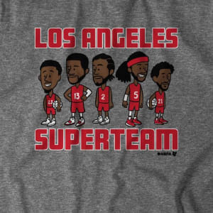 L.A. Superteam T-Shirt by BreakingT