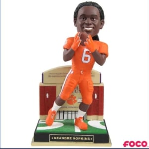 NCAA Gate Series DeAndre Hopkins Bobblehead