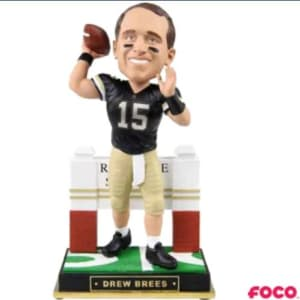NCAA Gate Series Drew Brees Bobblehead